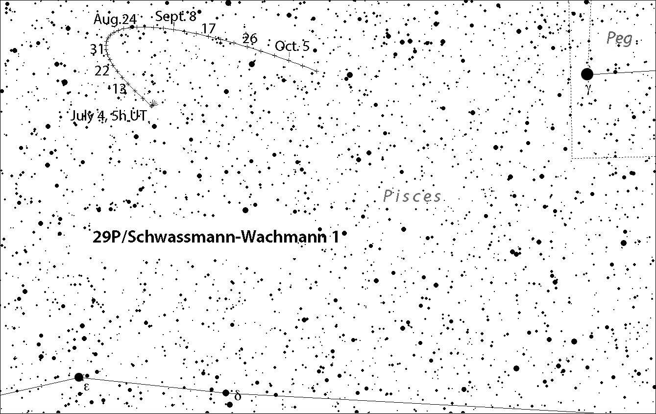Slow-boater comet