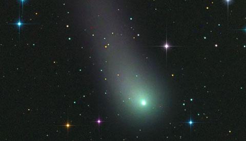 Comet Africano in full glory