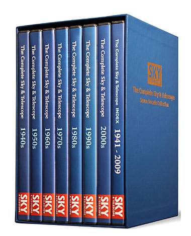 Sky & Telescope DVD archive
