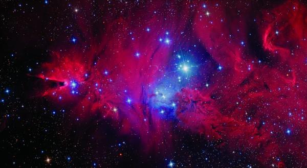 Cone Nebula, a CCDStack2-processed image