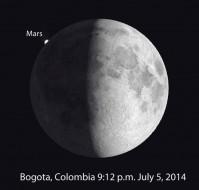 Bogota moon