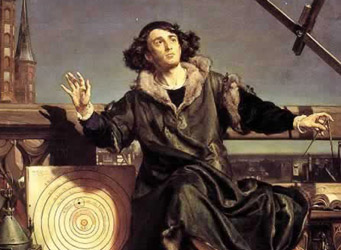 Portait of young Copernicus