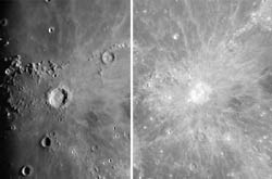 Copernicus under different lighting