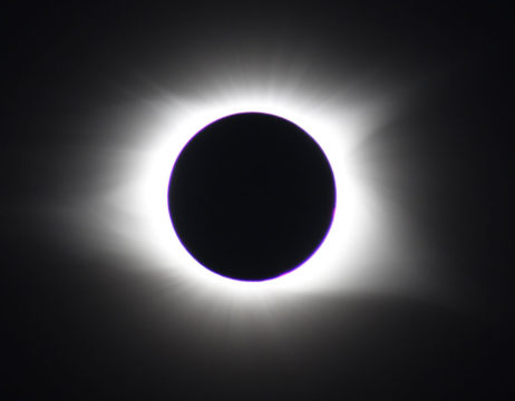 Corona during August 2017 solar eclipse