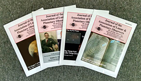 Covers of The Strolling Astronomer