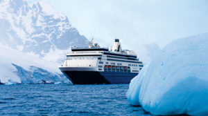 Cruising through Antarctica