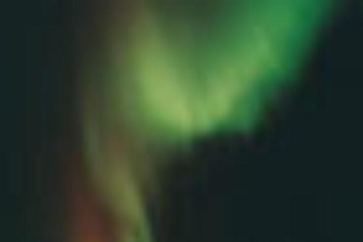 Auroral curtain