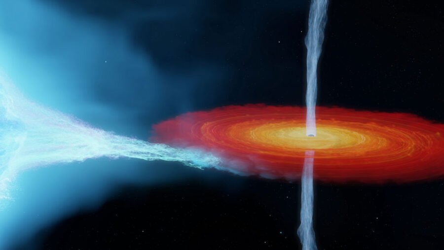 Cygnus X-1 black hole feeds from supergiant star companion