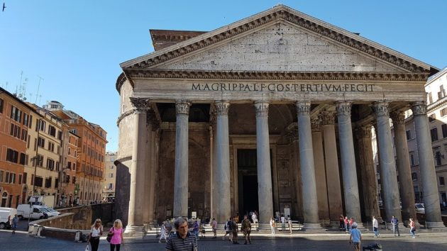 Visit the Pantheon, Rome, during our Italy tour