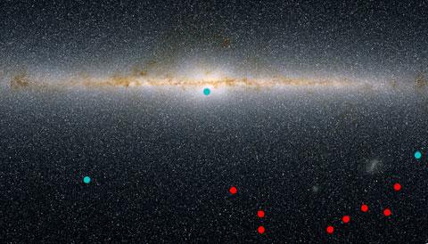 Potential dwarf galaxies