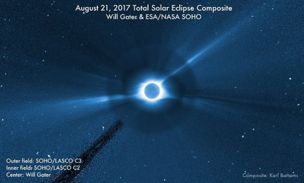 solar eclipse SOHO