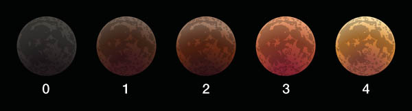 Danjon scale of totality brightness