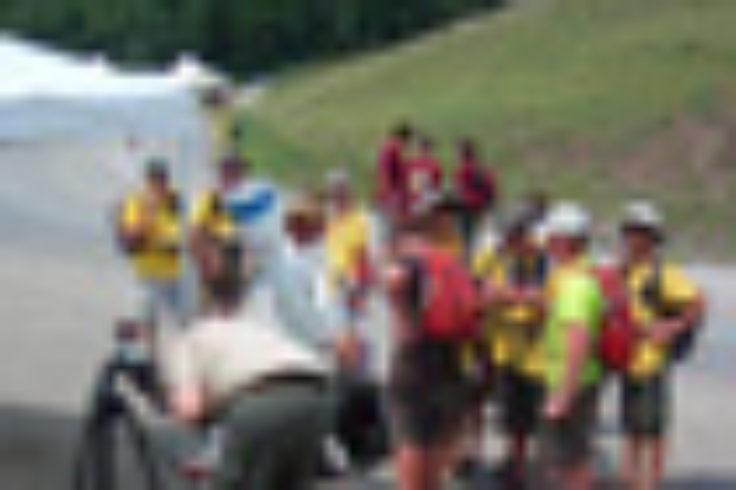 Boy Scouts go observing