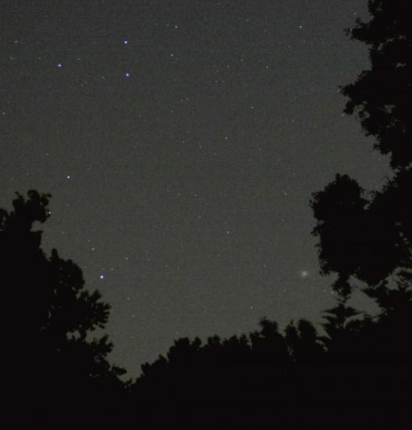 DSLR astrophotography: Stars and Omega Centauri