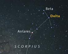 The head of Scorpius