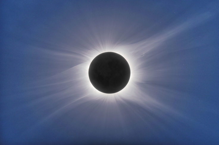 Total solar eclipse in 2010