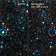 Hubble observations of failed supernova