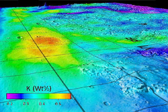 Ancient seafloor on Mars?