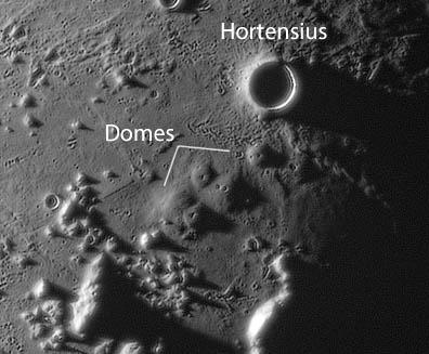 Lava Bumps Near Copernicus
