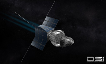 DragonFly captures asteroid