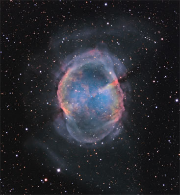 Dumbbell Nebula from SRO