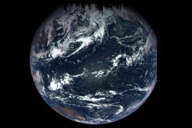 OSIRIS-REX's view of Earth