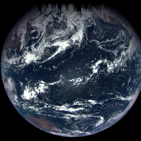 OSIRIS-REX's view of Earth