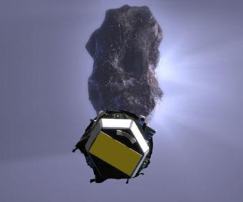 EPOXI flyby of Comet Tempel 1