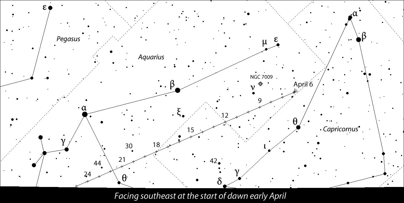 Comet on Track