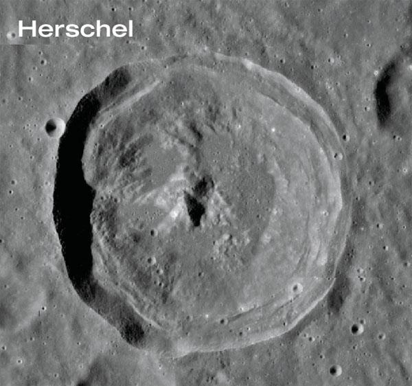 Herschel Crater