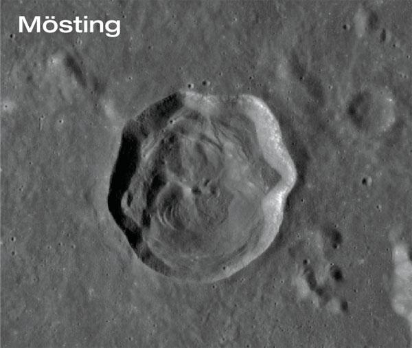 Mösting crater