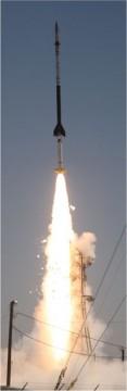 EUNIS rocket launch