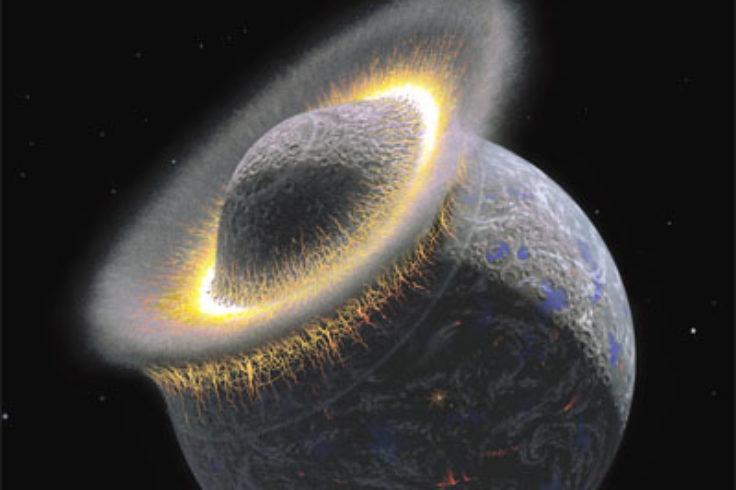 Birth of the Moon?