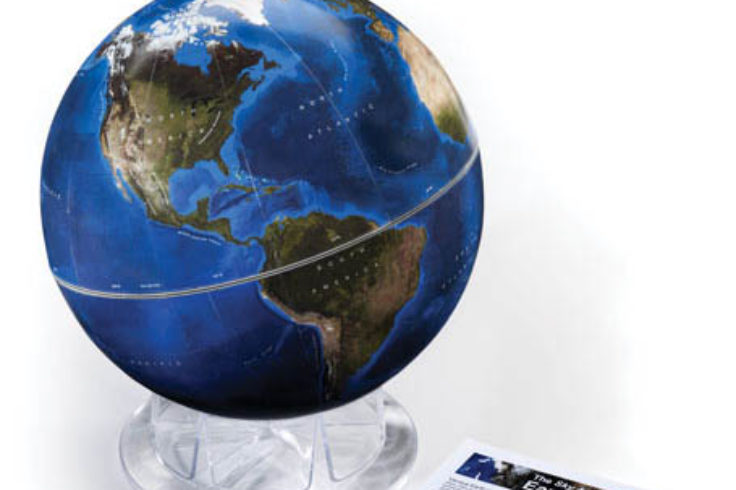 Sky & Telescope's Earth Globe