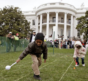 Easter-egg roll at the White House