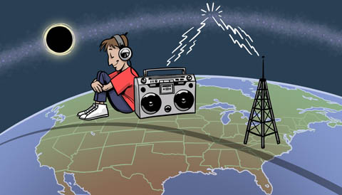"""""""Hear"""" August's eclipse with your AM radio"""