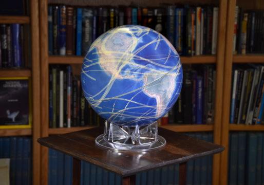 S&T's solar eclipse globe