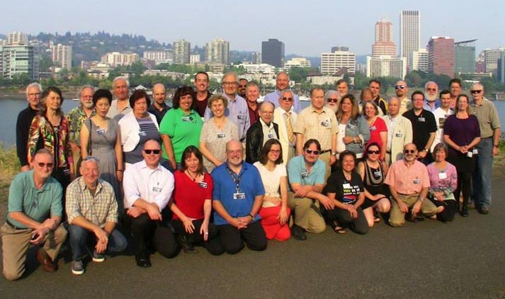 The Great American Eclipse workshop attendees in Portland