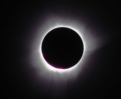 Total Solar Eclipse in Indonesia