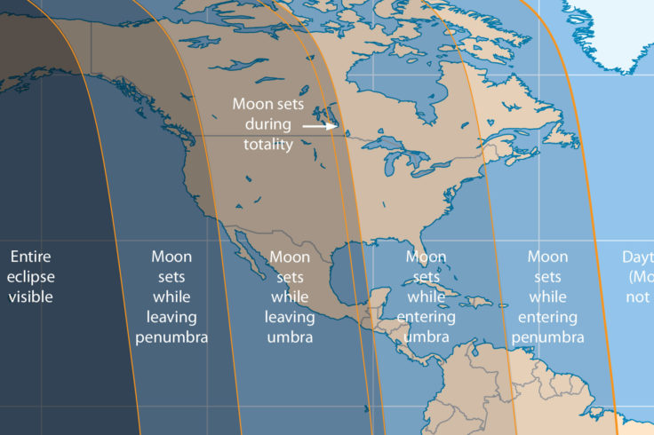 April 2015 lunar eclipse visiblity