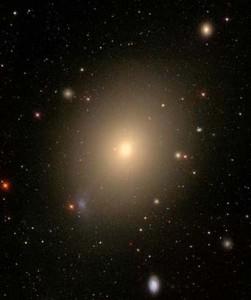 Elliptical galaxy NGC 4472