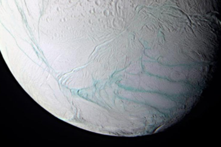Tiger Stripes on Enceladus