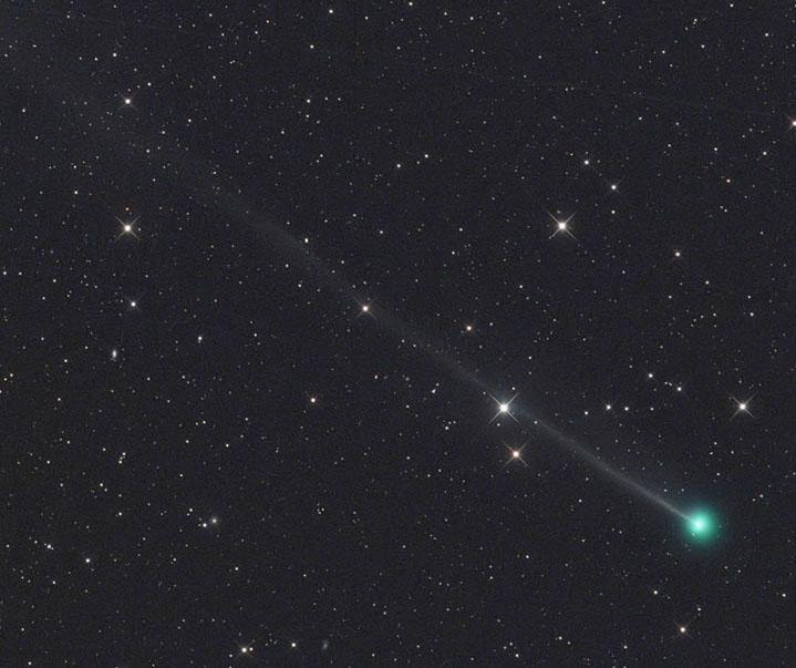 Cosmic spitball Encke's Comet