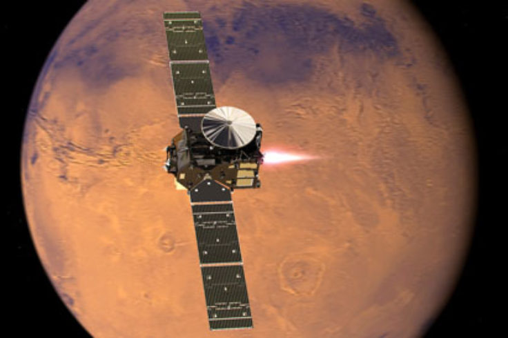 ExoMars TGO reaches Mars