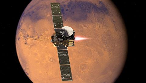 ExoMars TGO reaches Mars