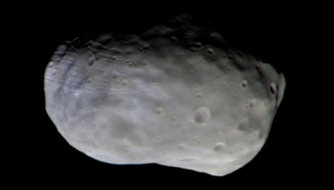 Phobos, by ExoMars CASSIS instrument