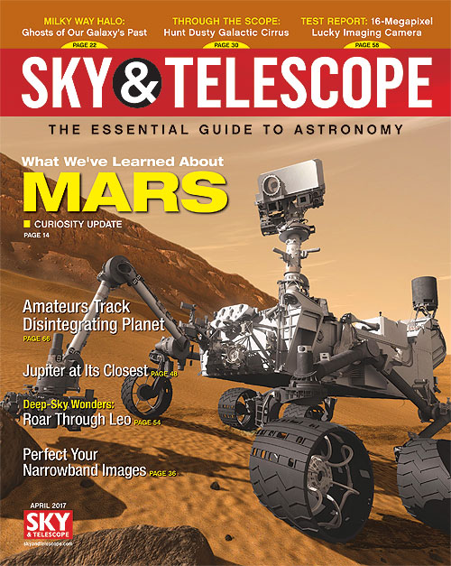 Sky & Telescope Magazine - April 2017