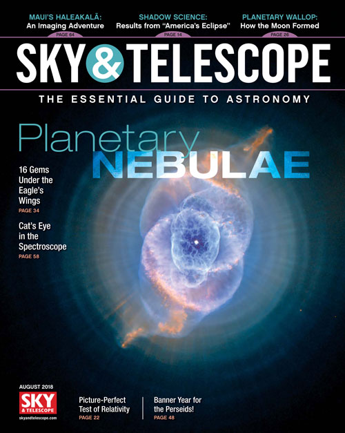 Sky & Telescope Magazine - August 2018