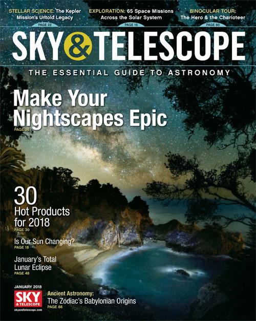 Sky & Telescope Magazine - January 2018
