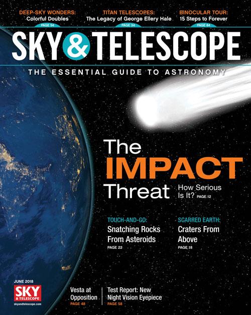 Sky & Telescope Magazine - June 2018